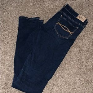 Dark Denim Abercrombie and Fitch Jeans